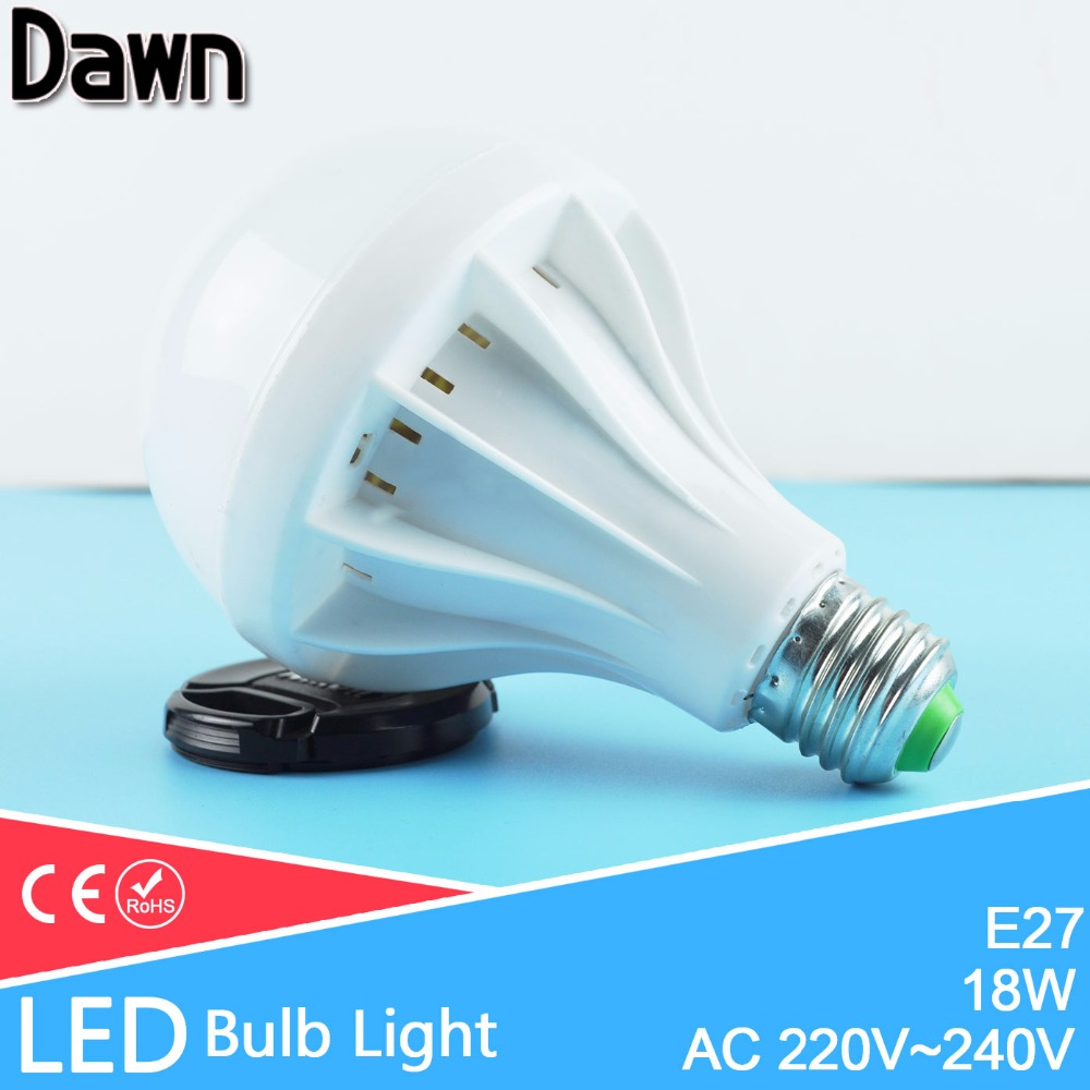 Top quality 18w e27 led lamp bulb led light bulb lampada for Lampade e27 a led