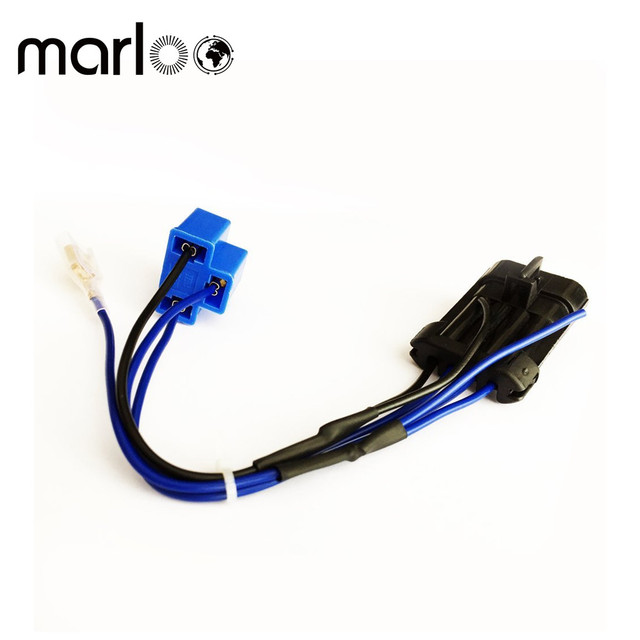 Marloo 7 inch LED Headlight Wire Harness Adapter for 2014 2015 2016 2017  Harley Davidson Touring and Trike Models -in Wire from Automobiles &