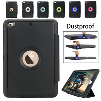Luxury Retro Flip Book Genuine Leather Case For Apple Ipad Mini 1 2 3 Magnetic Stand
