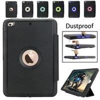 Luxury Retro Flip Book Genuine Leather Case For Apple Ipad Mini 1 2 3 Magnetic Stand