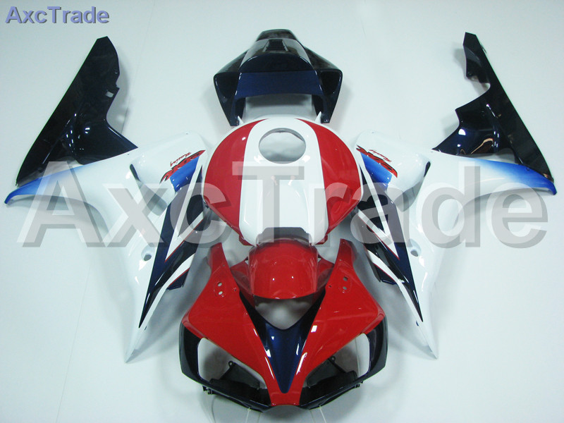 Motorcycle Fairings For Honda CBR1000RR CBR1000 CBR 1000 RR 2006 2007 06 07 ABS Plastic Injection Fairing Kit Bodywork Red White injection mold fairing for honda cbr1000rr cbr 1000 rr 2006 2007 cbr 1000rr 06 07 motorcycle fairings kit bodywork black paint