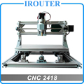Cnc 2418 (láser opciones), mini diy máquina de grabado DEL CNC, Pcb Milling Machine, máquina de Talla De Madera, cnc router, cnc2418, GRBL control