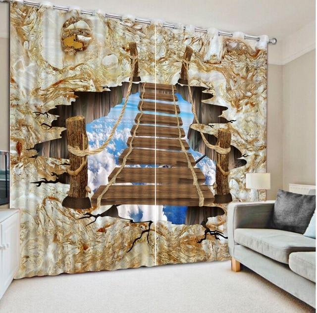 3d tende per salotto moderno tende su misura tende per camera da letto moderna marmo nube bianco - Tende camera da letto moderna ...