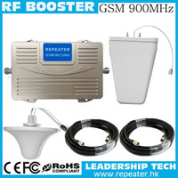 wholesale RF GSM900 GSM 900MHZ cellular mobile/cell phone signal repeater booster amplifier indoor/outdoor antenna cover 200m2