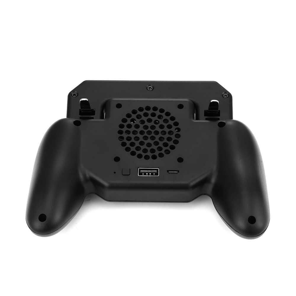 Pubg تحكم غمبد Pubg المحمول الزناد L1R1 مطلق النار المقود لوحة ألعاب حامل هاتف برودة مروحة مع 2000mAh قوة البنك