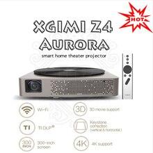 2016 Mejor xgimi Z4 aurora inteligente wifi proyectores de cine en casa completo hd led soporte DLP 1080 P 3d Tv proyector de cine para maltimedia