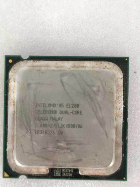 Intel Core 2 Duo E1200 Desktop Processor Dual-Core 1.6GHz 512kB Cache FSB 800MHz LGA 775 E 1200 Used CPU