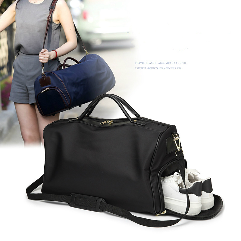 Man Portable Shoulder Travel Bag Business Travel Package Diagonal Diagonal High Quality Waterproof Oxford Large Capacity