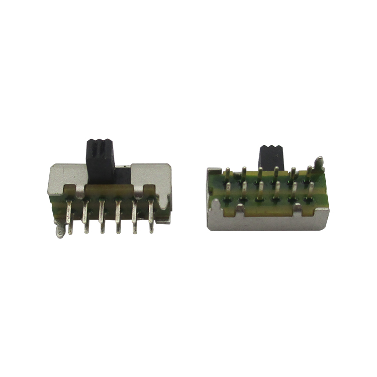 Pull switch SK-42D01 (4P2T) horizontal second row second gear (10pcs/lot) image