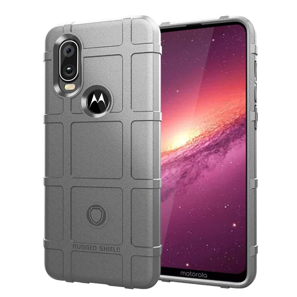 Image 4 - Conelz For Motorola One Vision Case TPU Case Cover Shockproof Amor Case Rugged Shiled Case
