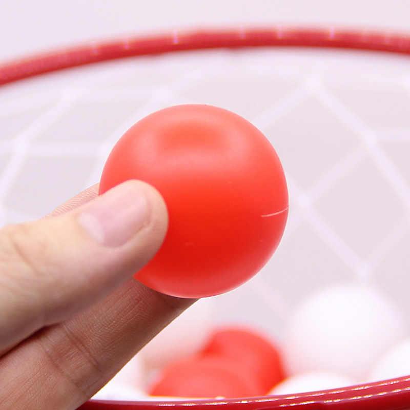 Permainan Anak-anak Permainan Luar Ruangan Olahraga 1 PC Basket Headband Ring dan 20 Bola Orangtua-Anak Interaktif Lucu Olahraga Mainan untuk Anak-anak