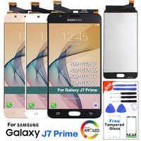 """Para SAMSUNG GALAXY J7 Prime LCD G610 G610F G610M pantalla táctil reemplazo del digitalizador de pantalla para 5,5 """"SAMSUNG J7 Prime LCD"""