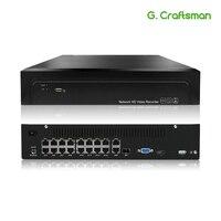 16ch POE NVR 4 K 5MP H.265 до 32ch сеть NVR видео Регистраторы 2 HDD 24/7 записывающая IP камера Onvif 2,6 P2P Системы г. ccraftsman