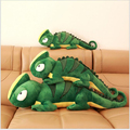 80cm Selling Child plush Toys Creative Chameleon Green Lizard Cartoons Doll Cushions Rag Doll Christmas Day Gift Free Door X66