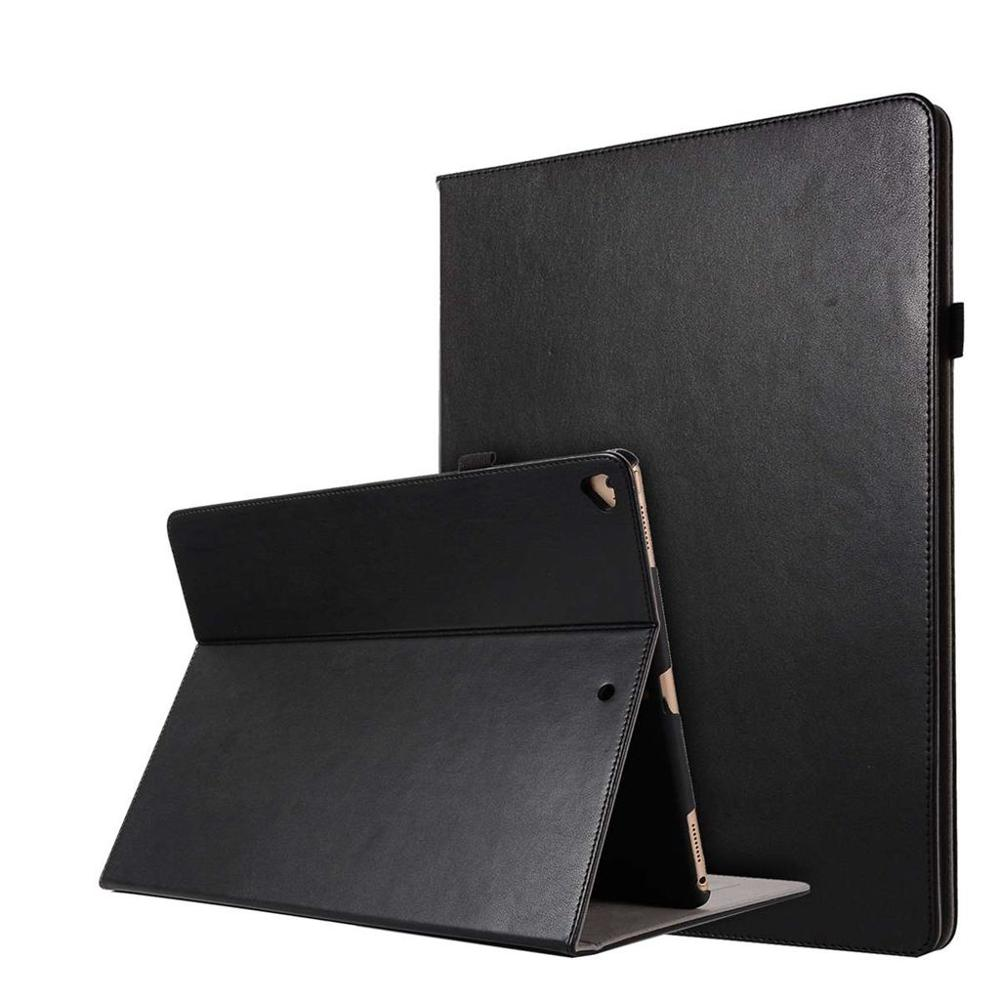 Card Hand Holder Cloth PU Leather Cover For Apple ipad pro 12.9 Original Magnetic Smart Case For ipad A1584 A1652+Stylus Pen.