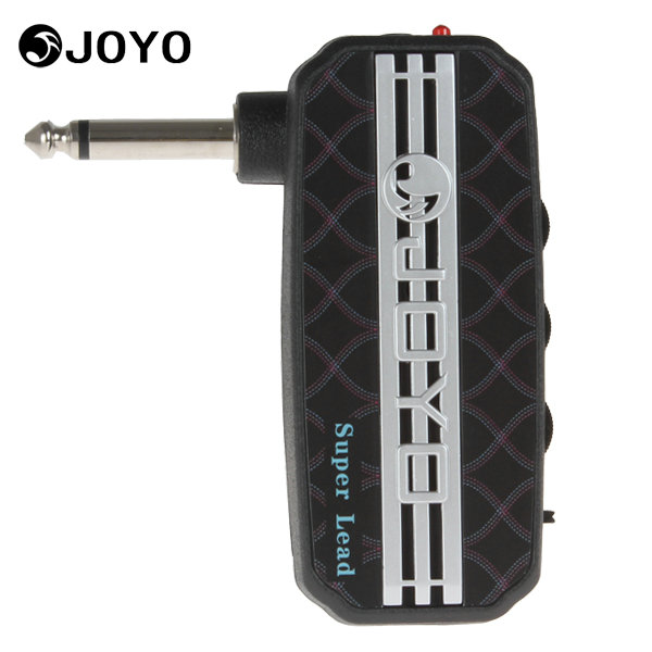 JOYO Ja-03 Super Lead 100W Sound Mini Guitar Amplifier Portable Plug Headphone Amp Guitar Parts Accessories with Earphone Output joyo ja 03 mini guitar amplifier with metal sound effect
