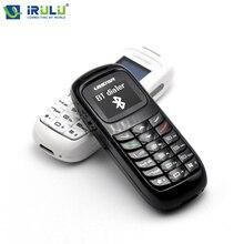"IRULU GT 0,66 ""BM70 Wireless Mini Telefon Mit Bluetooth Headset Kopfhörer Dialer Stereo Kopfhörer Tasche Telefon Unterstützung SIM Karte"