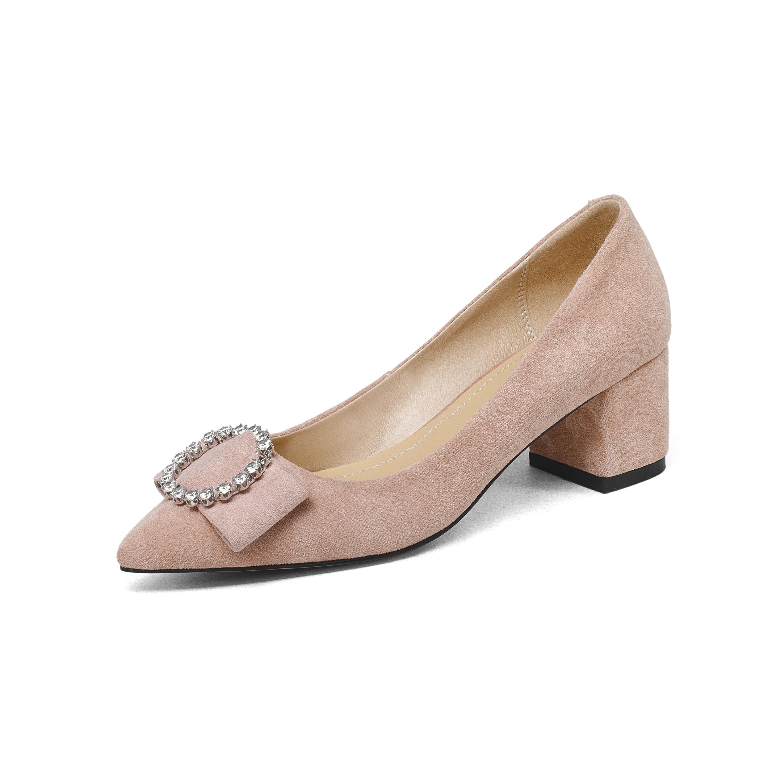 Bombas Zapatos Microfibra Mujer Tacones Mujeres Oficina Altos Tamaño Punta Vestido Dedo Moda Damas Nemaone 2018 tgnqxwHzgU