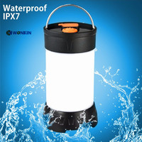 led camping light rechargeable led portable lantern flashlight USB 5 Modes Outdoor waterproof IPX7 magnetic light
