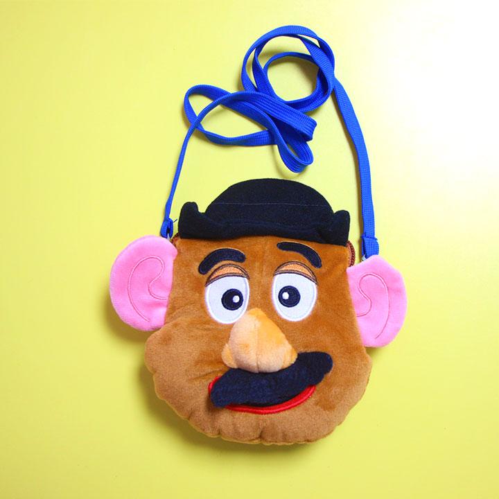 Toy Story Mr Potato Plush Animal Shaped Messenger Bag Shoulder Coin Purse Plush Bag Christmas Gift toy story bunny toys