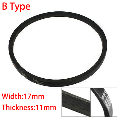 B 5250 5334 5400 5588 17mm Width 11mm Thickness Rubber Groove Cogged Machinery Drive Transmission Band Wedge Vee V Timing Belt