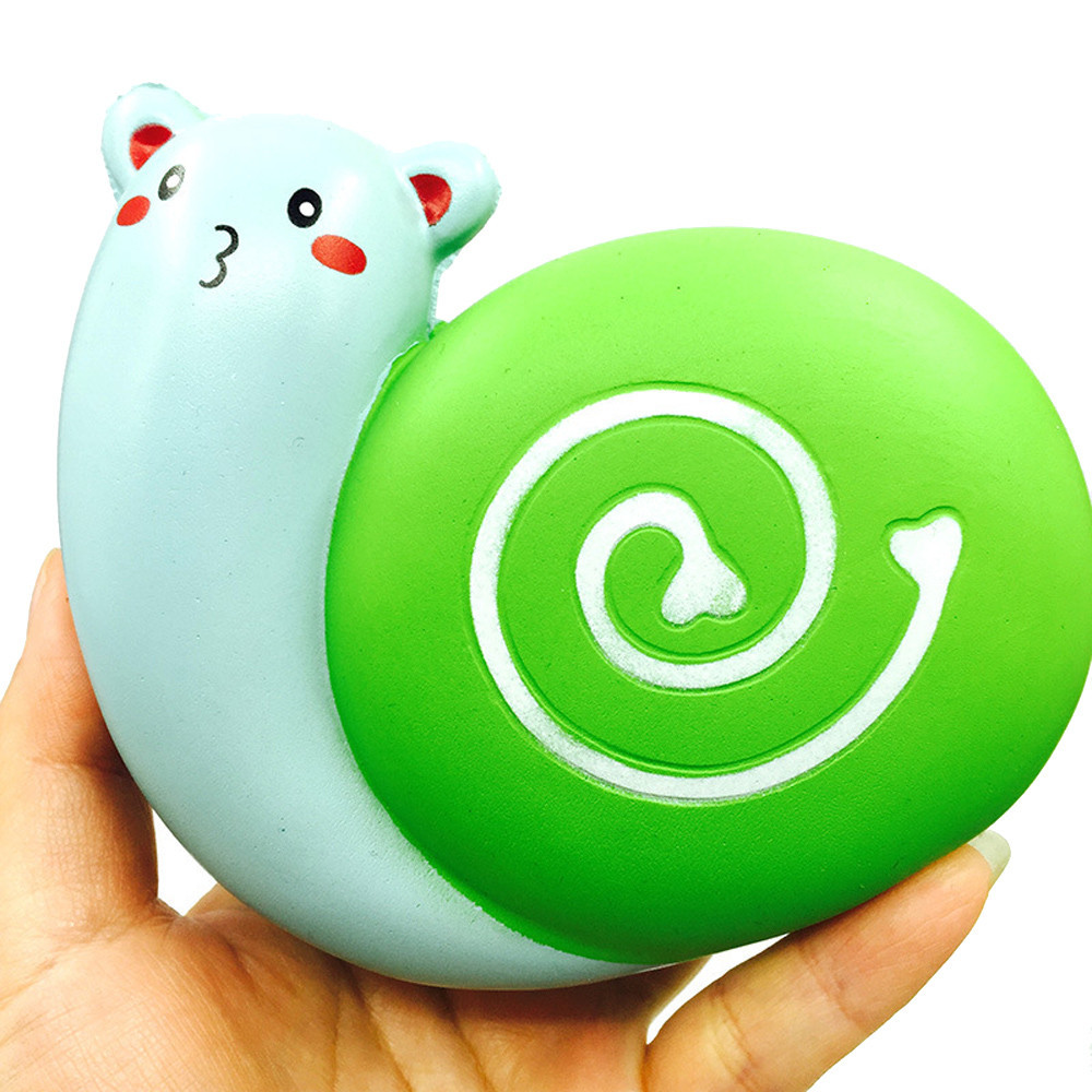 Foam Squishies Antistress Squeeze Love Snail Squishy Stress Reliever Toys Cartoon Toy 30S8316 drop shipping