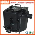1 Pcs/lot 3500w dry ice fog machine stage effect dry ice machine high power ground smoke machine for dj party events