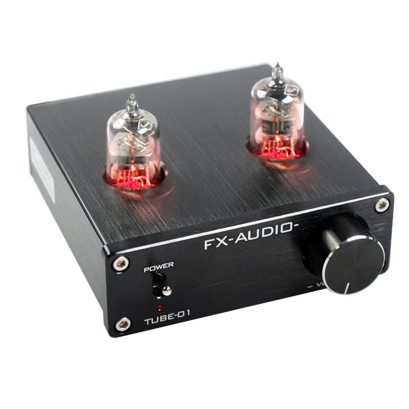 FEIXIANG FX-AUDIO TUBE-01 Aile Vorverstärker Röhrenverstärker Vorverstärker Gallenspeicher 6J1 MINI HIFI Vorverstärker DC12V Home Amplifier 600R