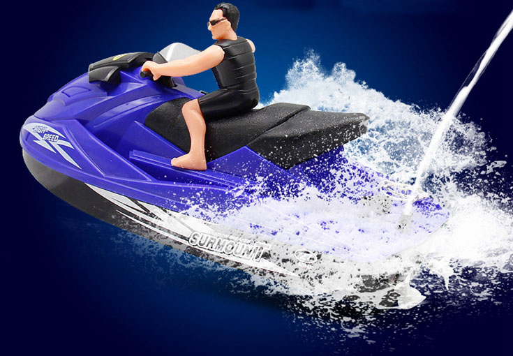 Speedboat Grownups Children Playing In The Water Baby Bath Remote Motorized Boats Electric Boat Cruises