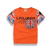 2017 Summer Children T-shirt Kids t-shirt Tops letter Print Tees Shirt Boys T-shirt For Boys Clothes