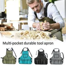 Multi-pocket Durable Tools Apron Garden Work Clothes Oxford Canvas Tool Storage Apron For Carpenters Electricians цена и фото