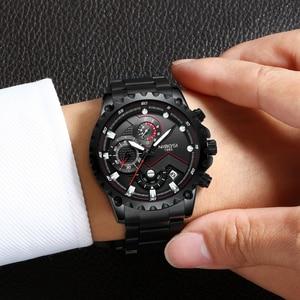 Image 5 - NIBOSI hommes montre grand cadran cadran sport montres hommes mode armée montre hommes militaire horloge Quartz montre bracelet Relogio Masculino