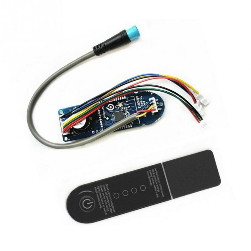 Persevering Plug Accessories Stable Replacement Dashboard Parts With Cover Durable Easy Install Scooter Circuit Board For Xiaomi M365 To Win A High Admiration Automobiles & Motorcycles