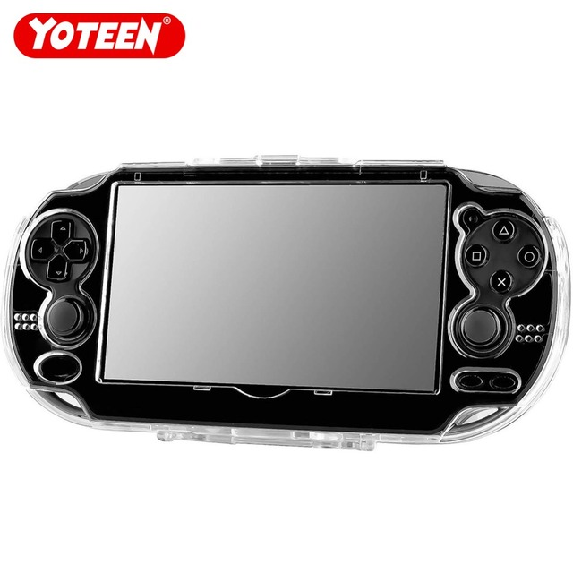Yoteen Crystal Case for PS Vita Transparent Shell for PSV 1000 2000 Protection Cover for PSV/PSV slim Clear Hard Plastic Case