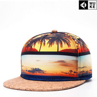 WuKe 2017 Summer Style Men Baseball Caps Hip Hop Snapback Hats Rock Caps Fashion Casquette Gorras