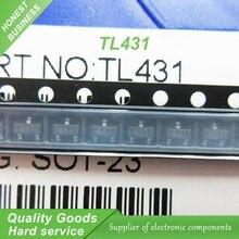 500 шт. бесплатная доставка TL431A TL431 431 SOT23-3 Опорного Напряжения Регулируемый Шунта Регулятор новый оригинальный