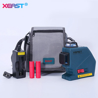 XEAST Professional Level 12Lines 3D Laser Level Self Leveling 360 Laser Level Red Laser Beam Line