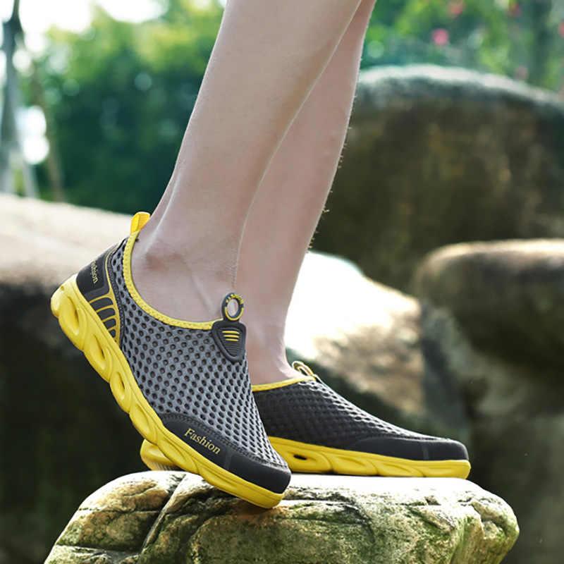 Bjakin Erkekler & Kadınlar Aqua Ayakkabı Açık Plaj su ayakkabısı Yukarı Dere Dalış Botları Neopren Kaymaz Hafif spor Ayakkabı