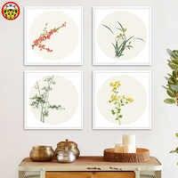 Malerei durch zahlen kunst farbe durch zahl diy ölgemälde durch zahl Selbst-dekoration Gemälde Chinesische Antiquitäten Blume Landschaft L