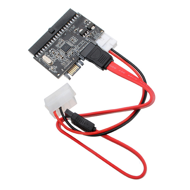 2 in 1 Standard 100/133 HDD Converter Adapter SATA to IDE /IDE to SATA ATA Power Cable Mother Board SATA Hard Disk Pro