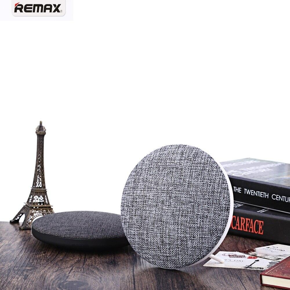Estilo na Moda Leitor de Música V4.1 sem Fio Remax Portátil Bateria Bluetooth Alto-falante Mãos-livres Chamadas Controle Remoto m9 1800 Mah
