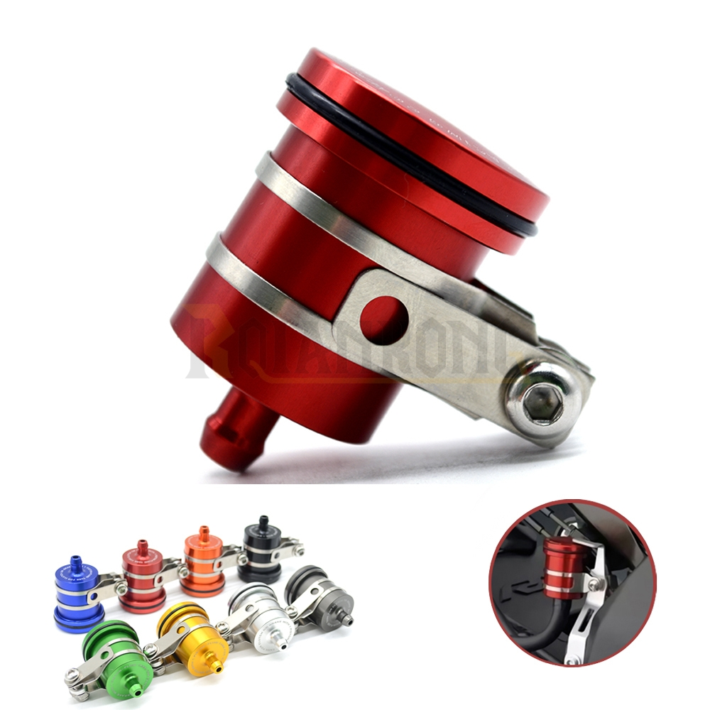 cnc universal motorcycle Fluid Reservoir Clutch Tank rear front brake oil cup for honda cbr 600 hornet cb400 cb 400 shadow 750 in Brake Disks from Automobiles Motorcycles