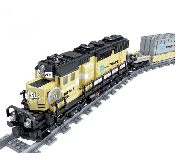 New Battery Powered Maersk Train Container Train Diesel Electric
