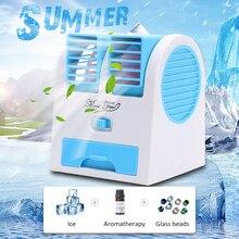 цены на DIDIHOU Mini portable USB Air Conditioning summer Fan wind natural ventilator Air Cooler fans for Home  в интернет-магазинах