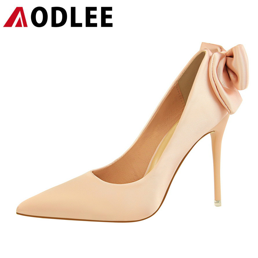 AODLEE High Quality Women Pumps Sexy Shoes Woman Pointy Toe Stilettos High Heels Wedding Shoes Thin Heels Ladies Women Shoes new 2017 high quality women pumps nude color sexy basic pointy toe stilettos high heels wedding shoes thin heels suede shoes