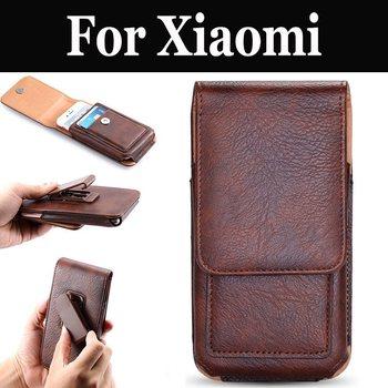 Pouch Clip Case Vertical Holster For Xiaomi Mi 4S 5 5c 5S 5S Plus 5X 6 6X 8 8 Lite Pro SE A1 A2 A2 Lite Mix 2 2S Note 2 3