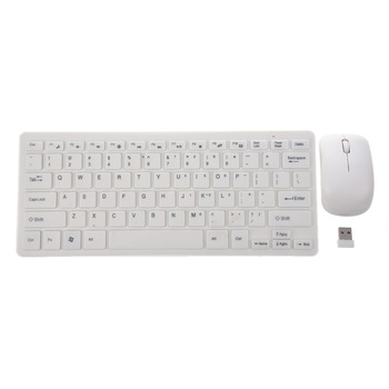2.4GHz Wireless Portable Keyboard and Mouse PC Set QWERTY