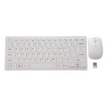 2,4 ГГц Беспроводной Портативный клавиатуры и Мышь шт набор QWERTY