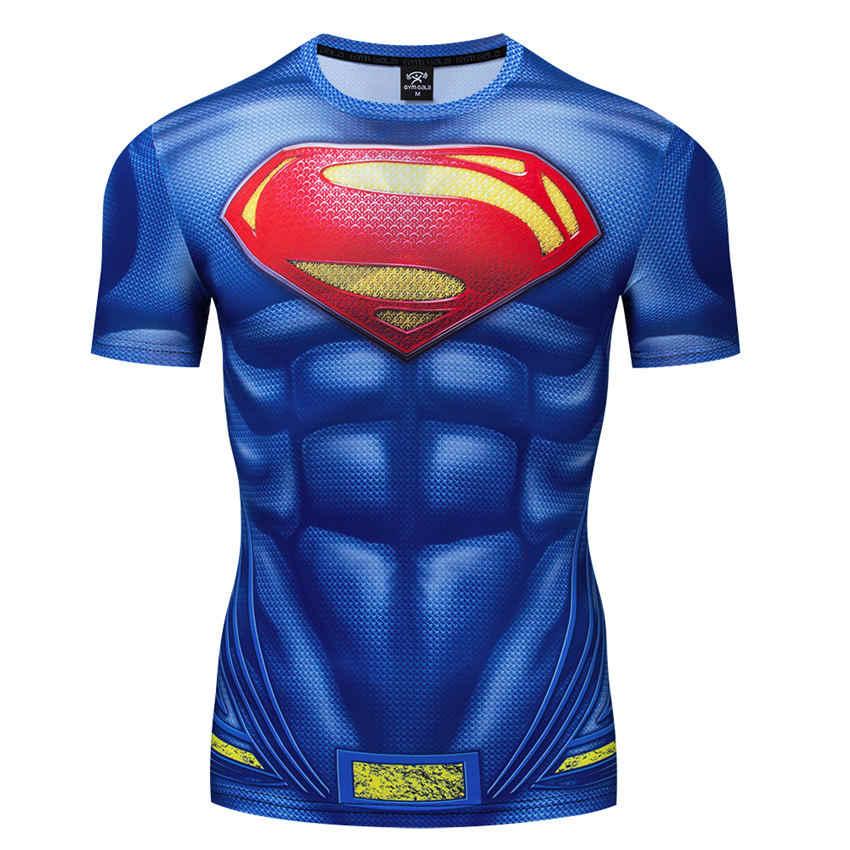 Homem-aranha 3d impressão digital t camisa masculina compressão de fitness camiseta superhero topos marca agasalho role play camiseta casual wear