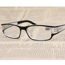 + 1.0 ~ 4.0 Gafas de Lectura Mujer Hombre Retro Diseñador de la Marca de Lujo De Plástico Gafas Hipermetropía Presbicia Oculos gafas de Moda De Sol